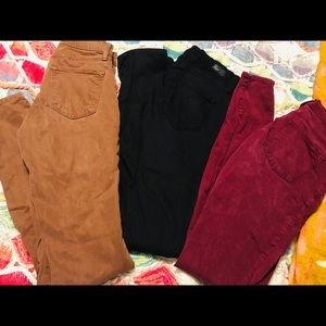 Three Pairs of Size 26 Pants